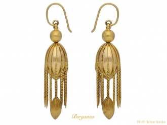 front-view-Victorian-drop-earrings-berganza-hatton-garden
