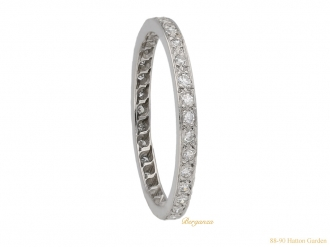 front-veiw-art-deco-eternity-ring-berganza-hatton-garden