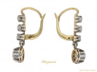 front-antique-diamond-earrings-berganza-hatton-garden