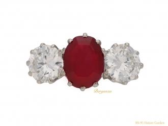 front-antique-ruby-diamond-ring-berganza-hatton-garden