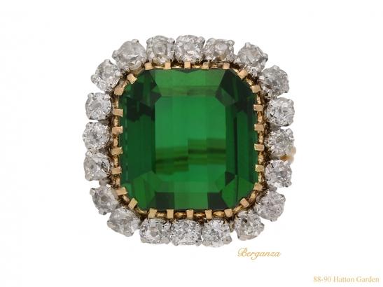 front-vintage-tourmaline-diamond-ring-berganza-hatton-garden