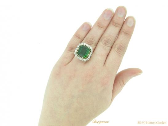 hand-vintage-tourmaline-diamond-ring-berganza-hatton-garden