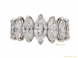 front-Oscar-Heyman-marquise-diamond-ring-berganza-hatton-garden