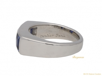 front-Cartier-Diamond-sapphire-ring-hatton-garden-garden