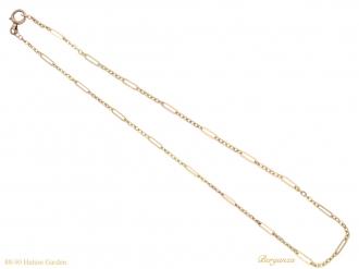 front-antique-gold-chain-berganza-hatton-garden