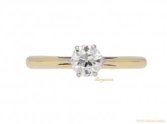 front-antique-diamond-engagement-ring-hatton-garden-berganza