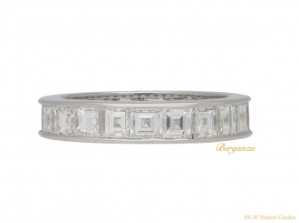 front-Oscar-Heyman-diamond-eternity-ring-berganza-hatton-garden