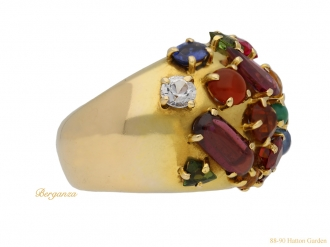 front-view-Multi-stone-cluster-ring-berganza-hatton-garden