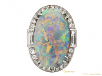 front-antique-opal-diamond-ring-berganza-hatton-garden