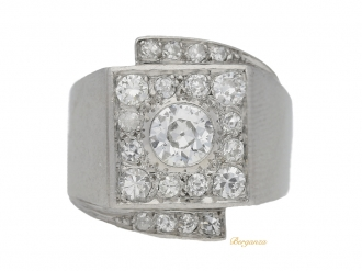 front-view-art-deco-cocktail-diamond-ring-hatton-garden-berganza