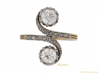 front-view-antique-diamond-ring-berganza-hatton-garden