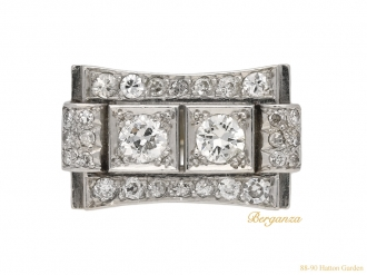 front-art-deco-diamond-ring-berganza-hatton-garden