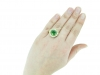 hand-veiw-demantoid-diamond-cluster-ring-hatton-garden-berganza