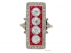 front-view-Ruby-Diamond-Ring-berganza-hatton-garden