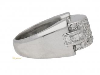 front-view-Art-Deco-diamond-cocktail-ring,-circa-1935.-berganza-hatton-garden