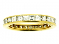Diamond eternity ring, by Oscar Heyman Bros.