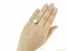 hand-view-vintage-Yard-diamond-ruby-ring-berganza-hatton-garden