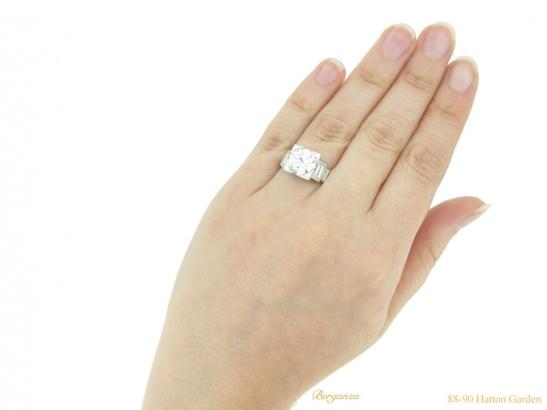 hand-view-art-deco-diamond-engagement-ring-berganza-hatton-garden