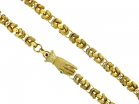 Georgian guard chain, circa 1820.