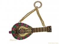 front-antique-ruby-emerald-brooch-berganza-hatton-garden