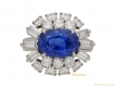 alt='front Cartier sapphire diamond ring berganza hatton garden'