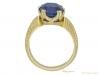 back Antique Ceylon sapphire gold ring hatton garden berganza