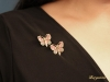 worn view antique butterfly brooches hatton garden berganza