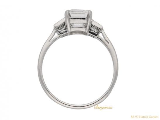 back art deco diamond ring berganza hatton garden