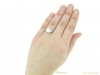 hand art deco diamond ring berganza hatton garden