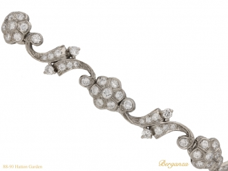 front Tiffany & Co diamond bracelet berganza hatton garden