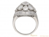 back Van Cleef & Arpels Diamond bombe ring berganza hatton garden