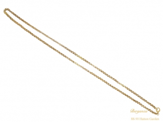 full georgian gold chain hatton garden berganza
