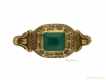 alt='front Renaissance emerald gold ring hatton garden berganza'