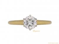 front vintage diamond tiffany ring hatton garden berganza