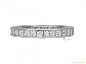 front bespoke oscar heyman diamond ring hatton garden berganza