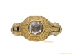 alt='front Renaissance rose cut diamond ring berganza hatton garden'