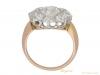 back antique diamond cluster ring hatton garden berganza