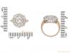 size antique diamond cluster ring hatton garden berganza