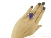 hand tiffany amethyst diamond ring berganza hatton garden