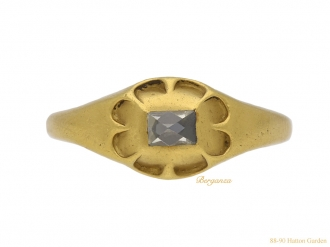 front jacobean gold diamond ring hatton garden berganza