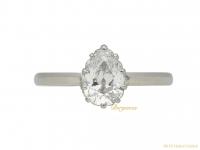 drop shape diamond engagement ring berganza hatton garden