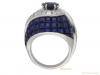 back vintage sapphire diamond ring berganza hatton garden