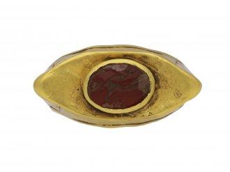 Ancient Roman cornelian signet ring berganza hatton garden