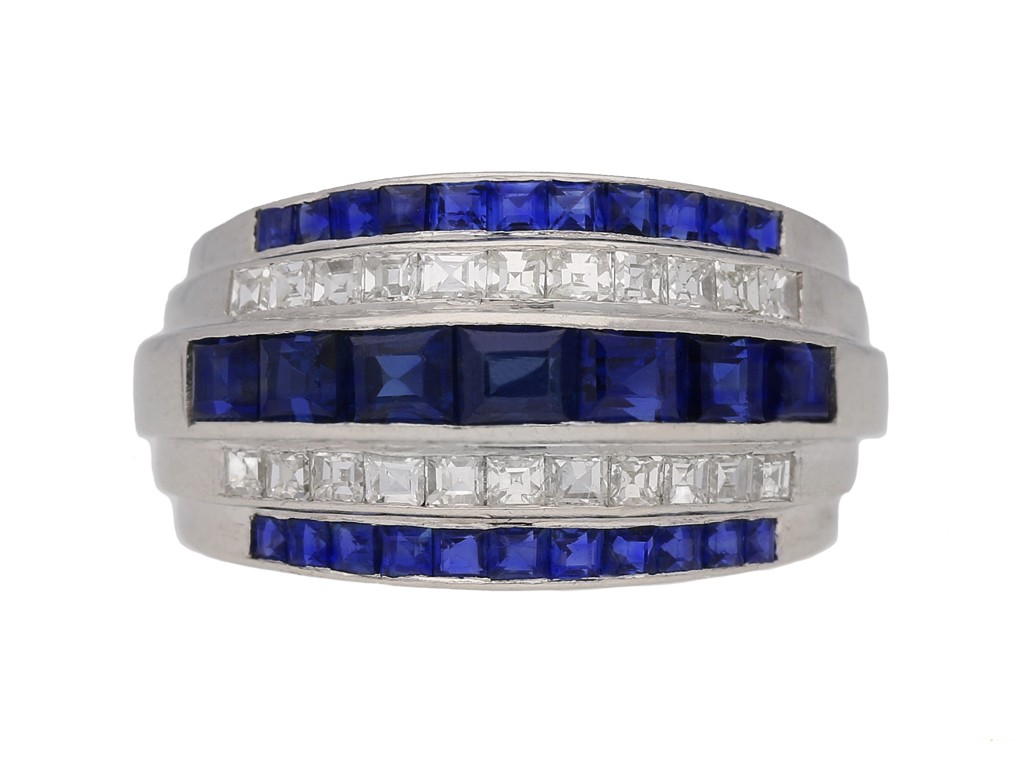 yard diamond sapphire ring berganza hatton garden