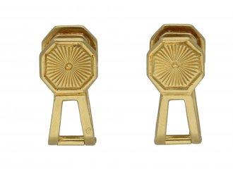 Cabochon sapphire cufflinks berganza hatton garden