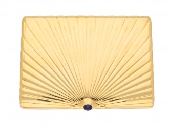 Fabergé gold case, Russian Berganza hatton garden