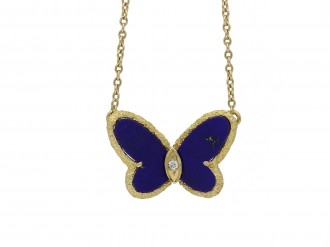 Van Cleef & Arpels butterfly pendant berganza hatton garden