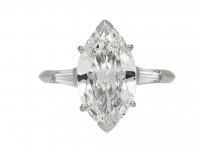 Boucheron marquise diamond ring berganza hatton garden