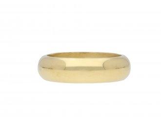18 carat yellow gold wedding ring hatton garden