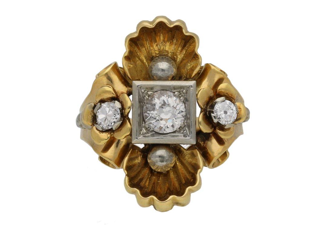 Diamond dress ring berganza hatton garden